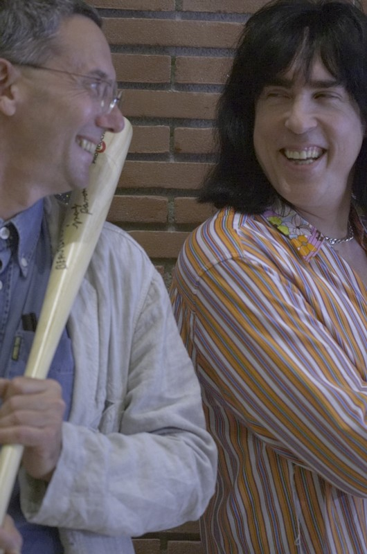 con Marky Ramones