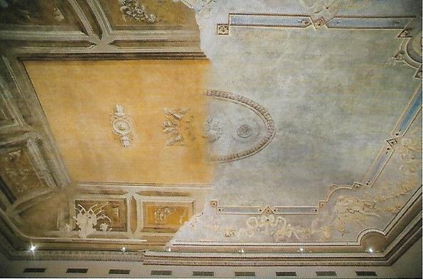 Scan Palazzo Citterio restauro soffitto da ArtEdossier